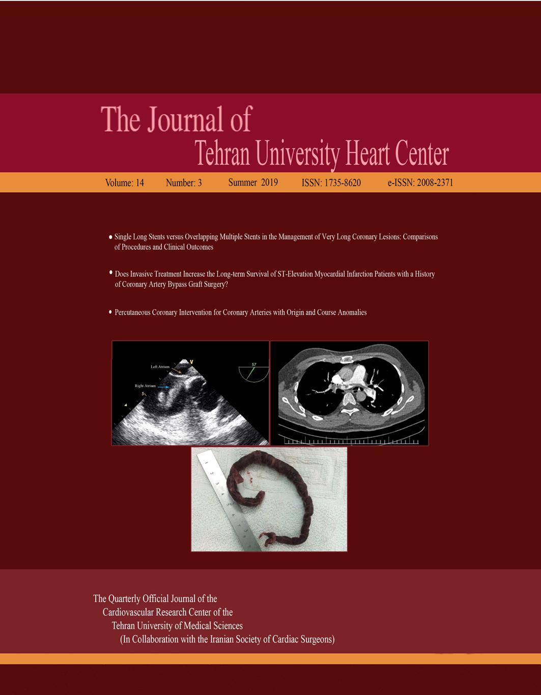 The Journal of Tehran University Heart Center